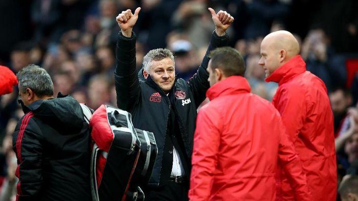 Ole Gunnar Solskjaer menjalani start yang positif bersama Manchester United (Foto: Clive Brunskill/Getty Images)