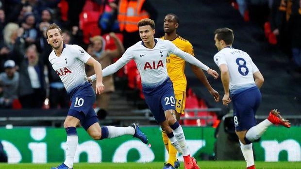 Hasil Liga Inggris: Comeback, Wolves Bekuk Spurs 3-1