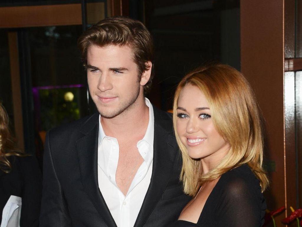 Resmi Nikah, Miley Cyrus-Liam Hemsworth Tak Ingin Buru-buru Punya Anak