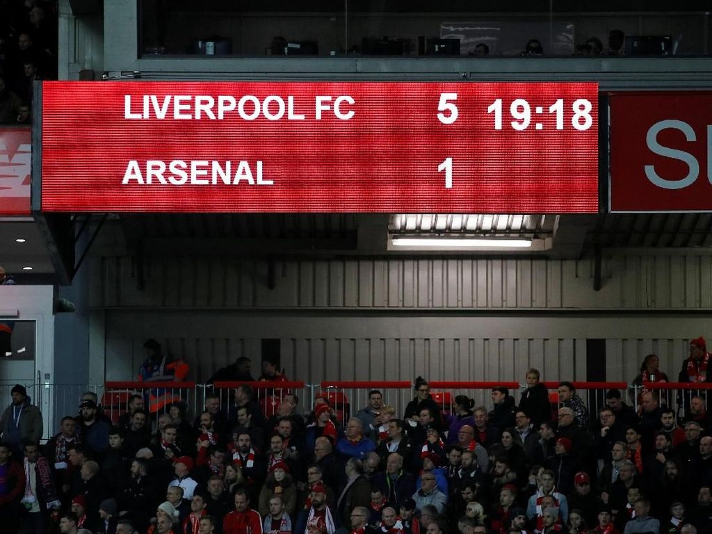 Liverpool Vs Arsenal: Tak Ada Alasan The Gunners Dibantai Lagi