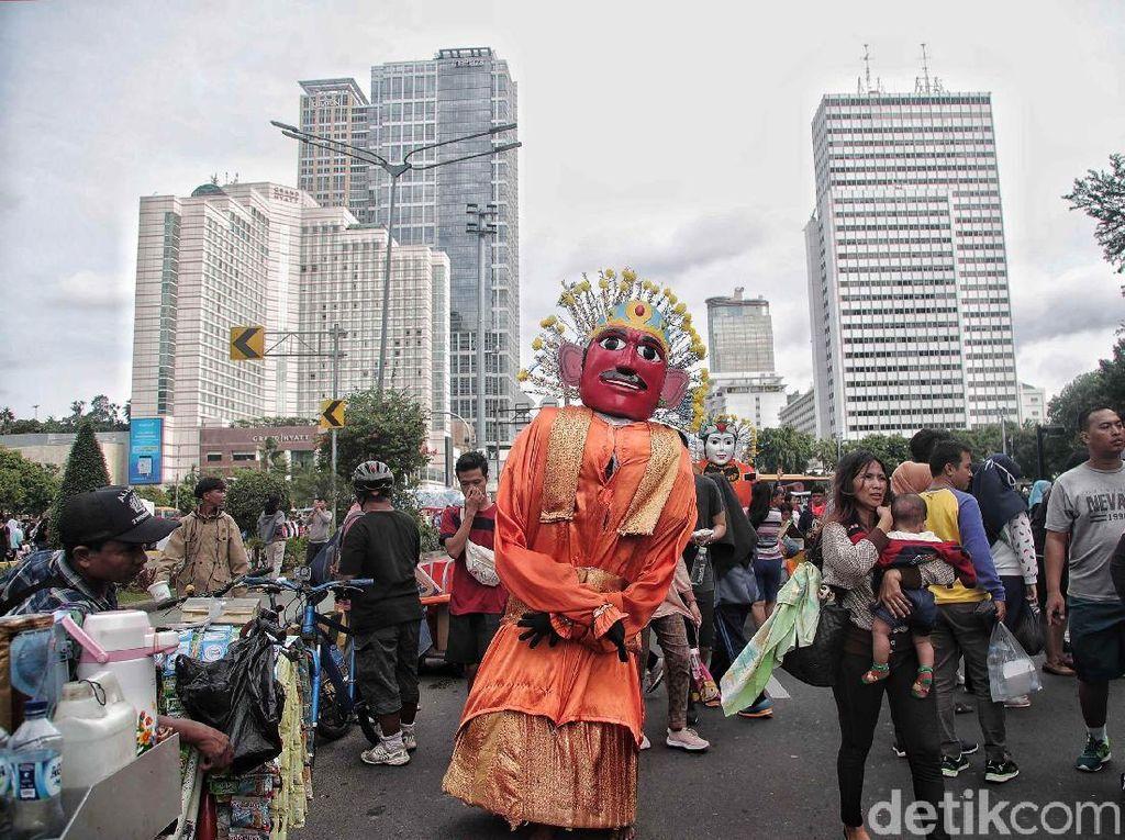 DPRD DKI Usul Revisi Perda Budaya Betawi untuk Larang Pengamen Ondel-ondel