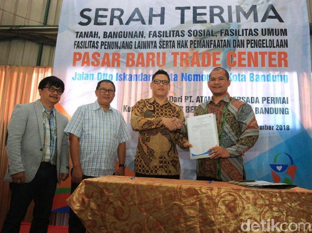 Pengelolaan Pasar Baru Kembali ke Pangkuan Pemkot Bandung