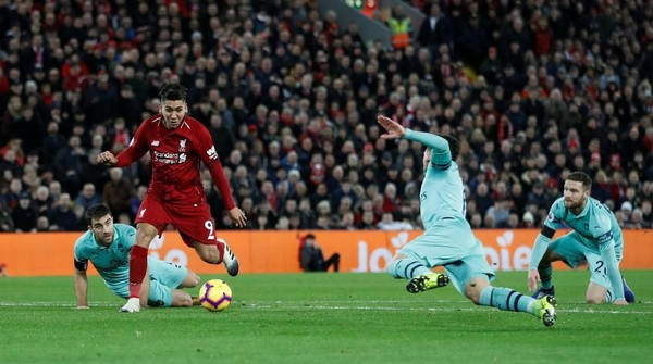 Hasil Liverpool Vs Arsenal: The Reds Menang 5-1