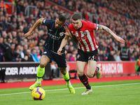 City Unggul 3-1 atas Southampton di Babak Pertama
