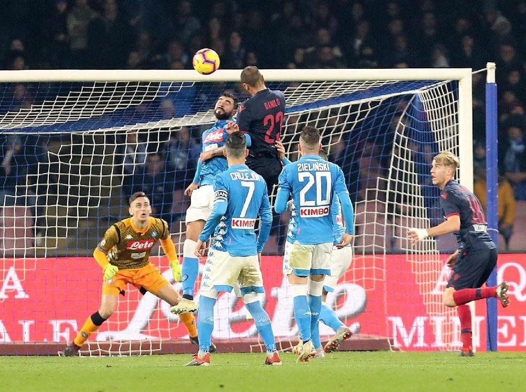 Hasil Liga Italia: Napoli Kalahkan Bologna 3-2