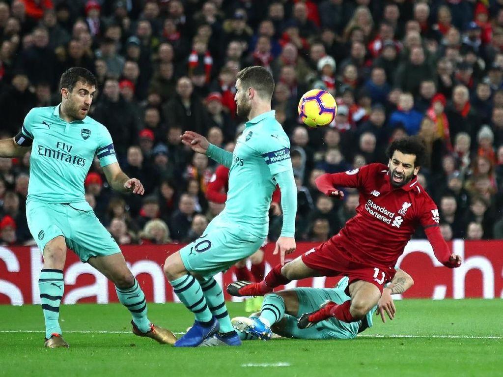 Musim Lalu Dihajar Liverpool di Anfield, Arsenal Bisa Apa Kali Ini?