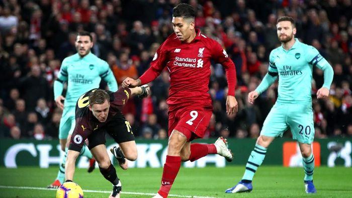 Liverpool vs Arsenal berpotensi hujan gol. (Foto: Clive Brunskill/Getty Images)