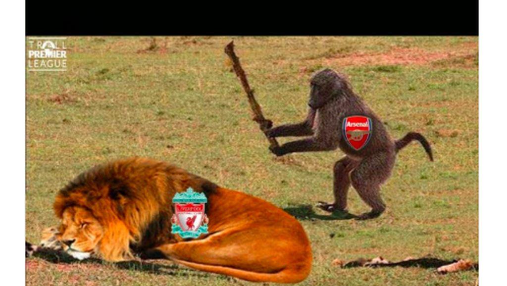 12 Meme Lucu Arsenal Digasak Liverpool