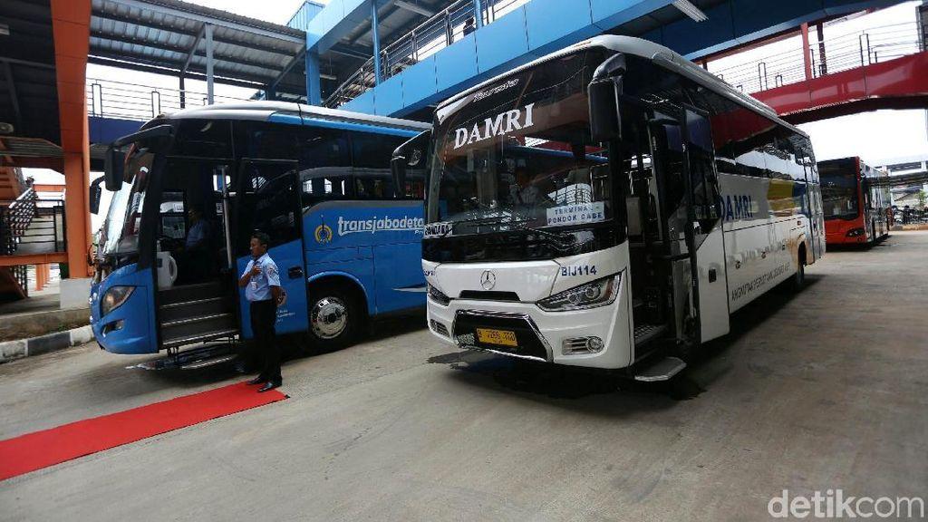 Potret Terminal Pondok Cabe yang Layani Rute DKI hingga Jawa Barat