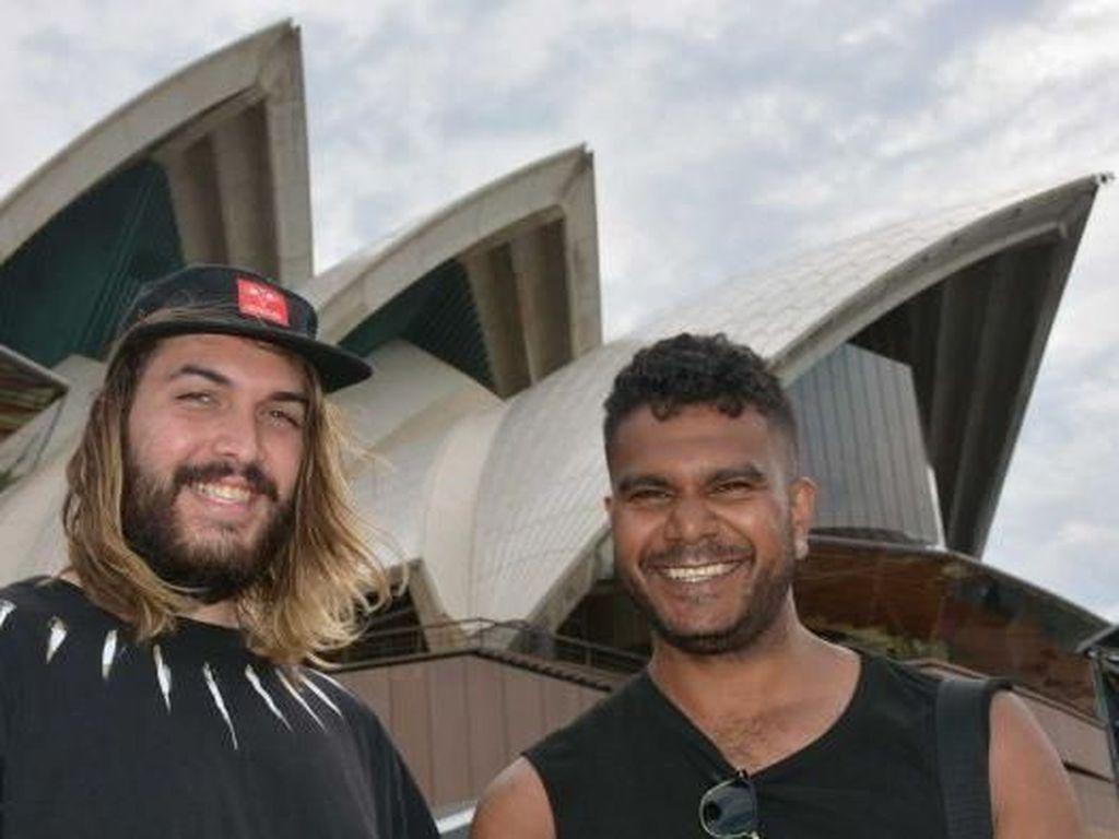 Budaya Aborijin Warnai Kemeriahan Acara Malam Tahun Baru di Sydney