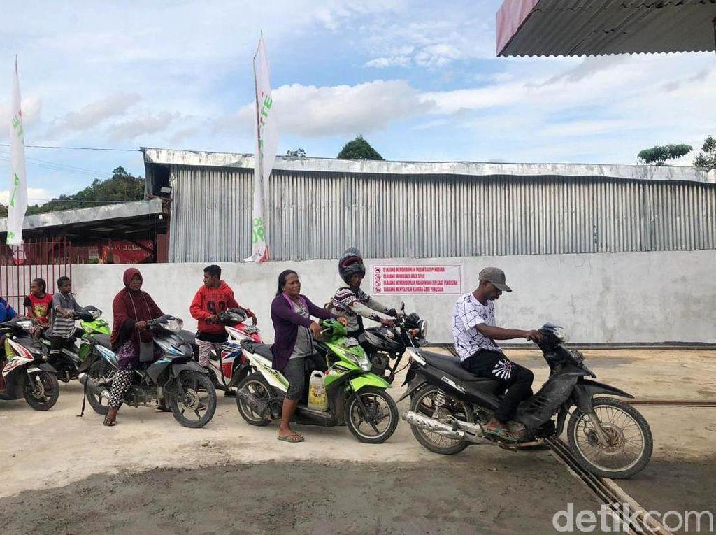 Harga Bensin di Papua Turun Puluhan Ribu berkat BBM 1 Harga