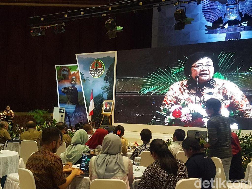 Menteri Siti: Jajaran Kementerian LHK Tak Boleh Terpengaruh Politik