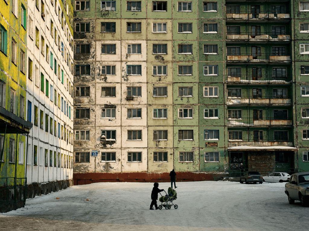 Foto Kota Penuh Polusi di Rusia, Tak Dapat Matahari 2 Bulan
