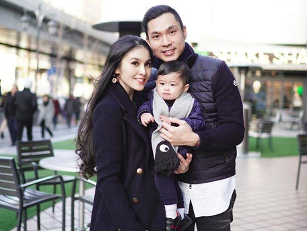 Mantap! Kecil-kecil Anak Sandra Dewi Sudah Punya Jet Pribadi