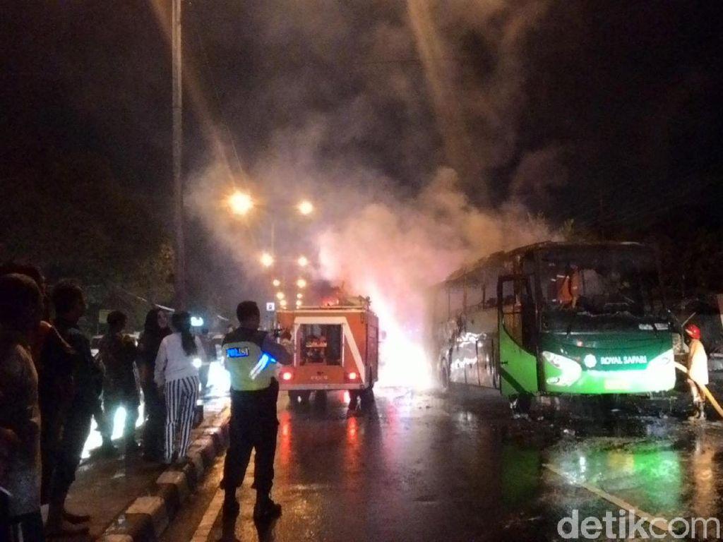 Bus Terbakar di Boyolali, 40 Penumpang Selamat
