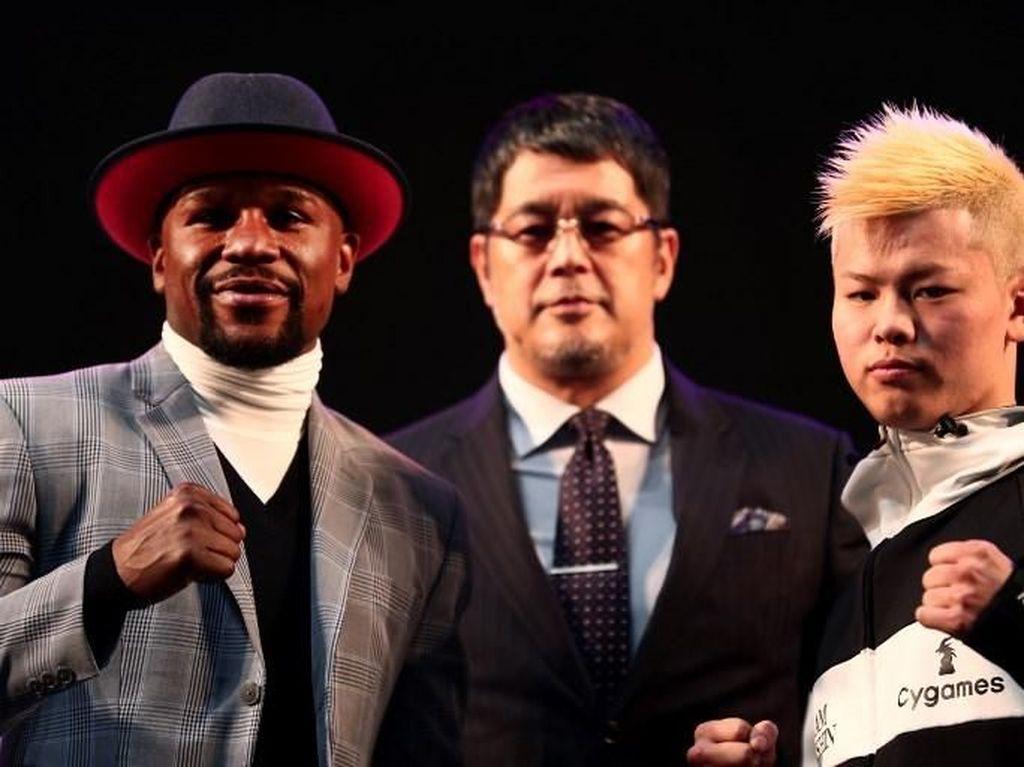 Jelang Pergantian Tahun, Mayweather Tarung dengan Kickboxer Jepang
