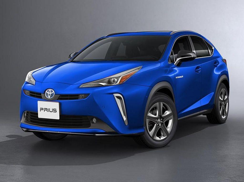 Ketika Toyota Prius Berbadan SUV
