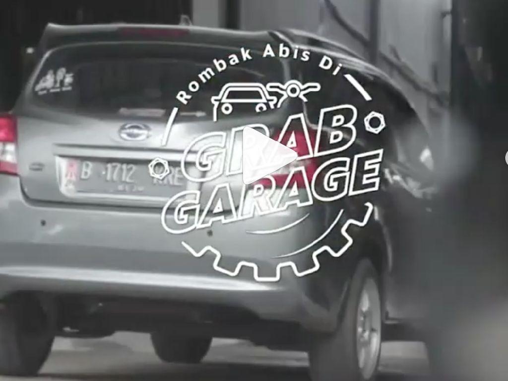 Keren! Datsun Go dan Agya ini Dimodif di Grab Garage