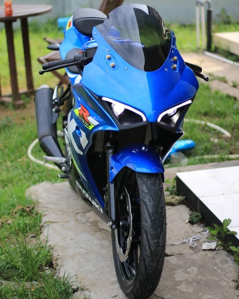 Suzuki GSX-R150 ibarat Ducati Panigale. Foto: Dok. Bojank