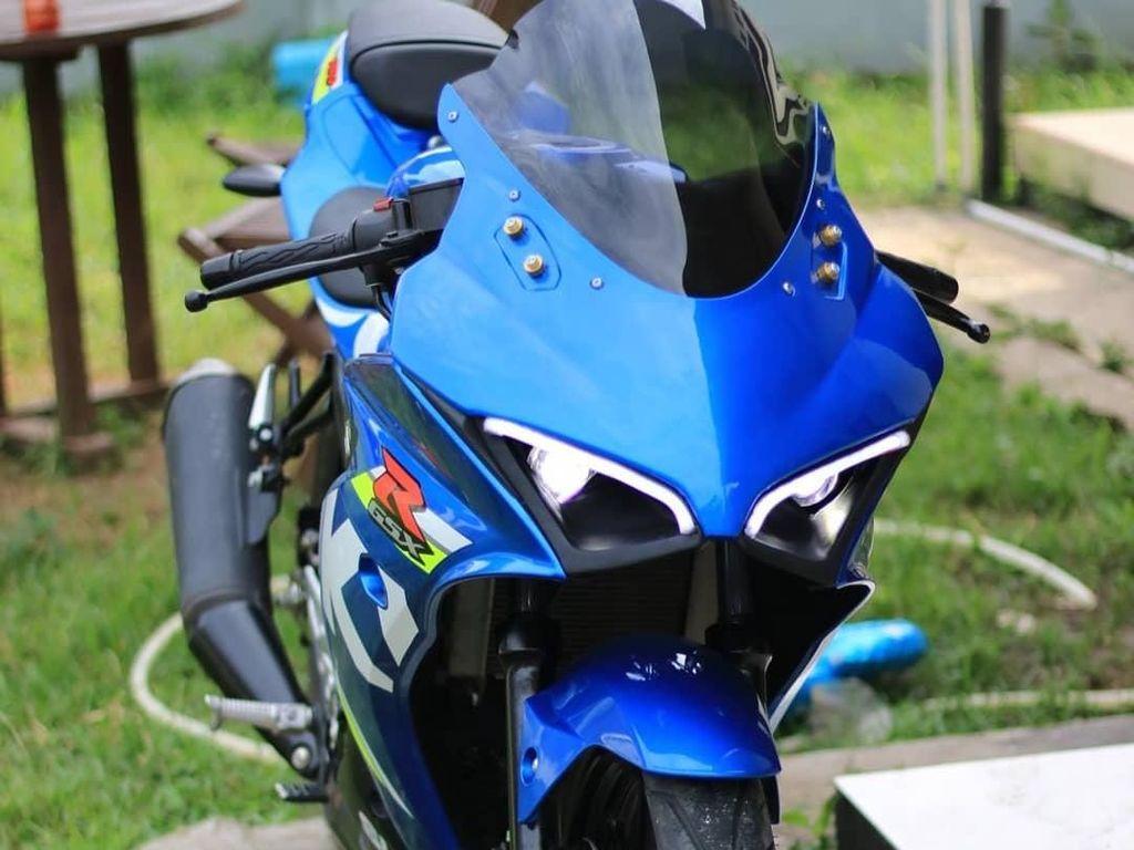 Suzuki GSX-R150 Jadi Mirip Ducati Panigale