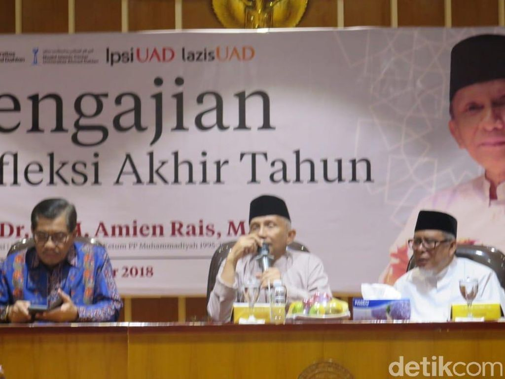 Amien Rais Jawab Manuver Goenawan Mohamad dkk