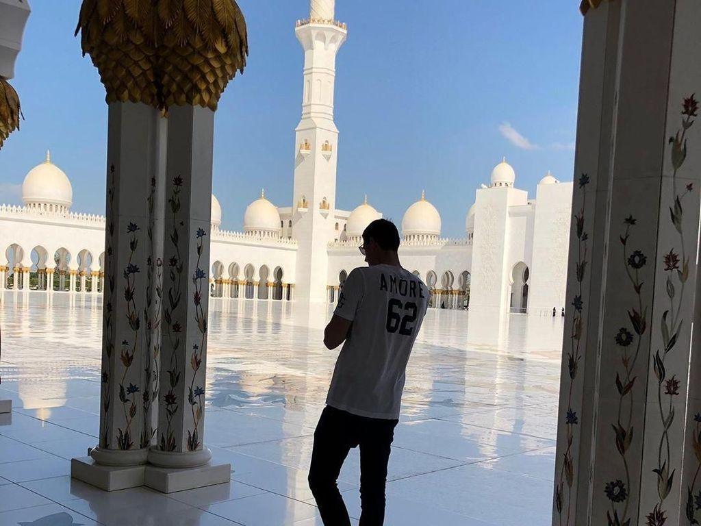 Selain Sergio Ramos, Courtois Juga Puji Masjid Sheikh Zayed