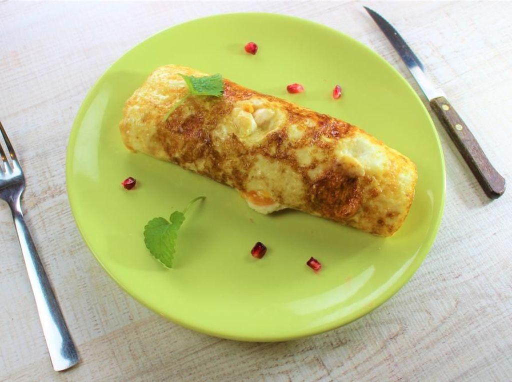 Egg Chicken Roll, Bekal Tahun Baru Enak untuk Keluarga