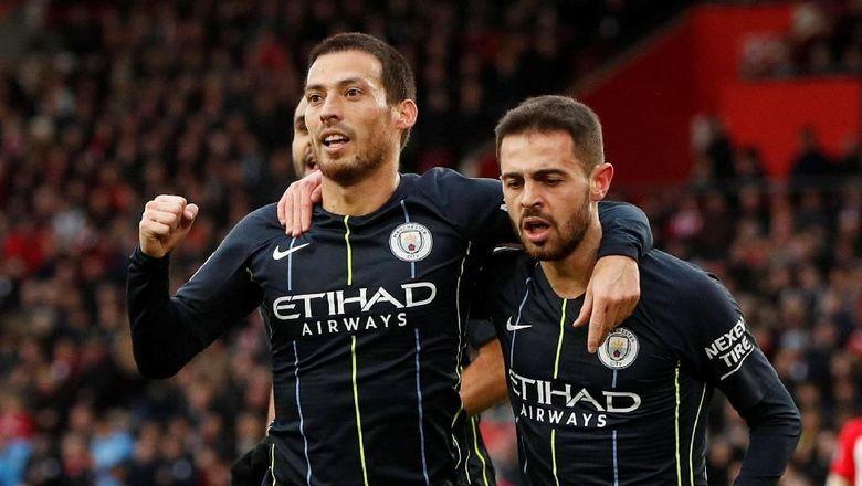 Klasemen Liga Inggris: Manchester City Kembali ke Peringkat Dua