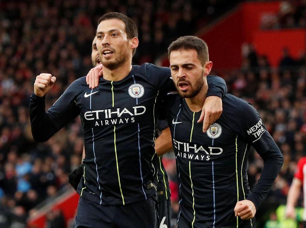 Man City Kembali ke Jalur Kemenangan