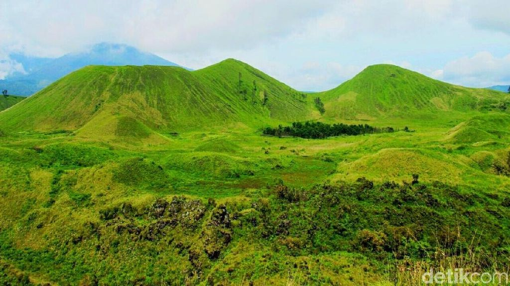 Foto: Bukit Teletubbies di Bondowoso