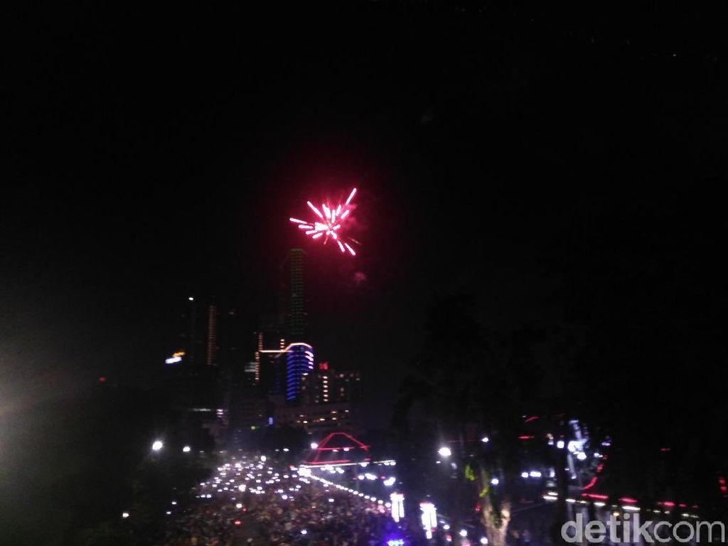 Tahun Baru di Surabaya Kondusif dan Harapan Polisi untuk 2019