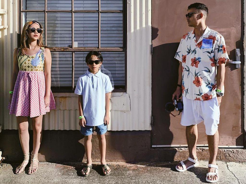 Wah, Seru Banget Liburan Keluarga BCL di Hawaii