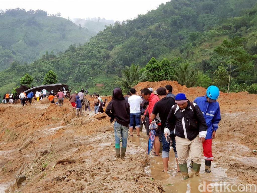 PVMBG Terjunkan Tim ke Lokasi Longsor Kampung Adat Sukabumi