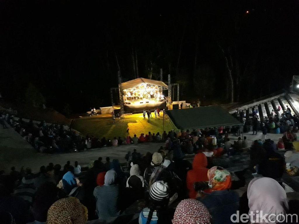 Meriahnya Tahun Baru di Desa Wisata Nglanggeran, Gunungkidul