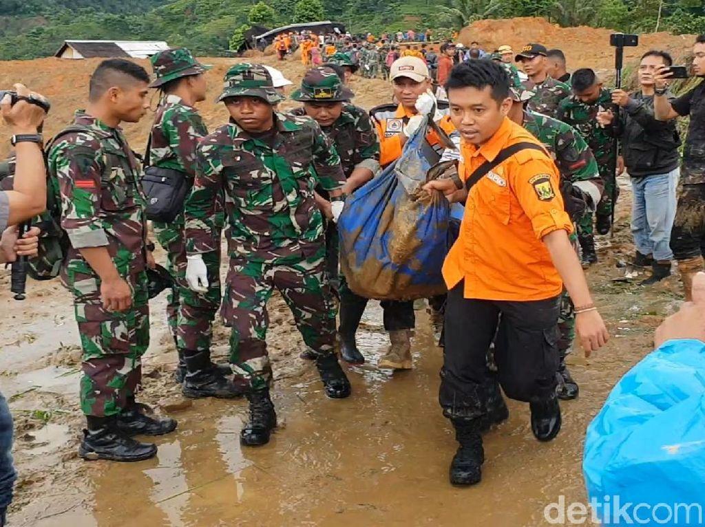 Korban Longsor Kampung Adat Sukabumi Ditemukan