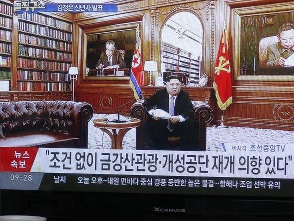 Kim Jong-un Peringatkan AS, Korut Bisa Berubah Arah