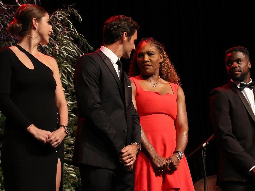 Ketika Federer Akan Bertarung dengan Serena Williams