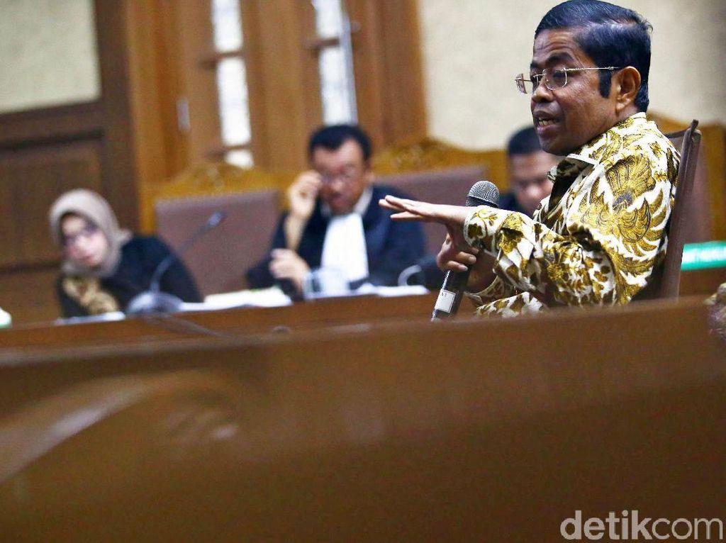 Idrus Marham Tak Ajukan Eksepsi, Umbar Pujian ke Jaksa dan Hakim