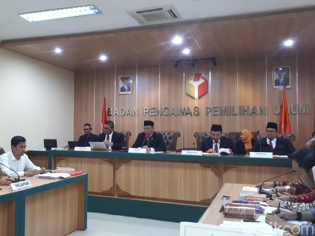 Sidang Laporan OSO di Bawaslu, KPU Bantah Tak Jalankan Putusan PTUN