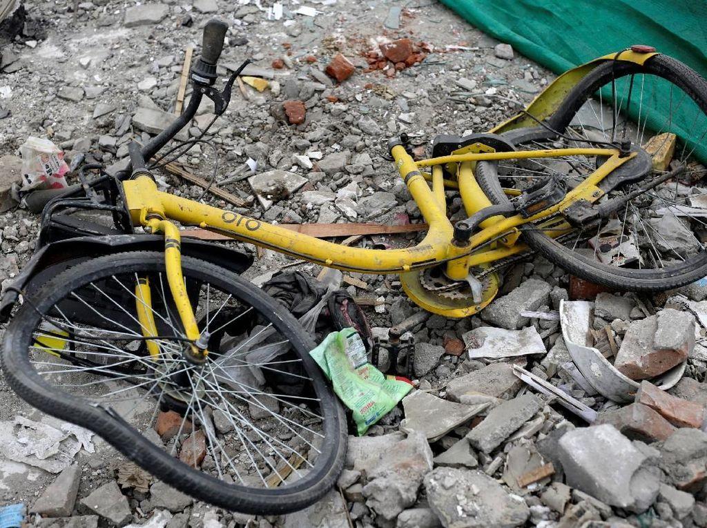 Kisah Sedih Startup Sepeda Online Ofo, Dirangkum dalam Foto
