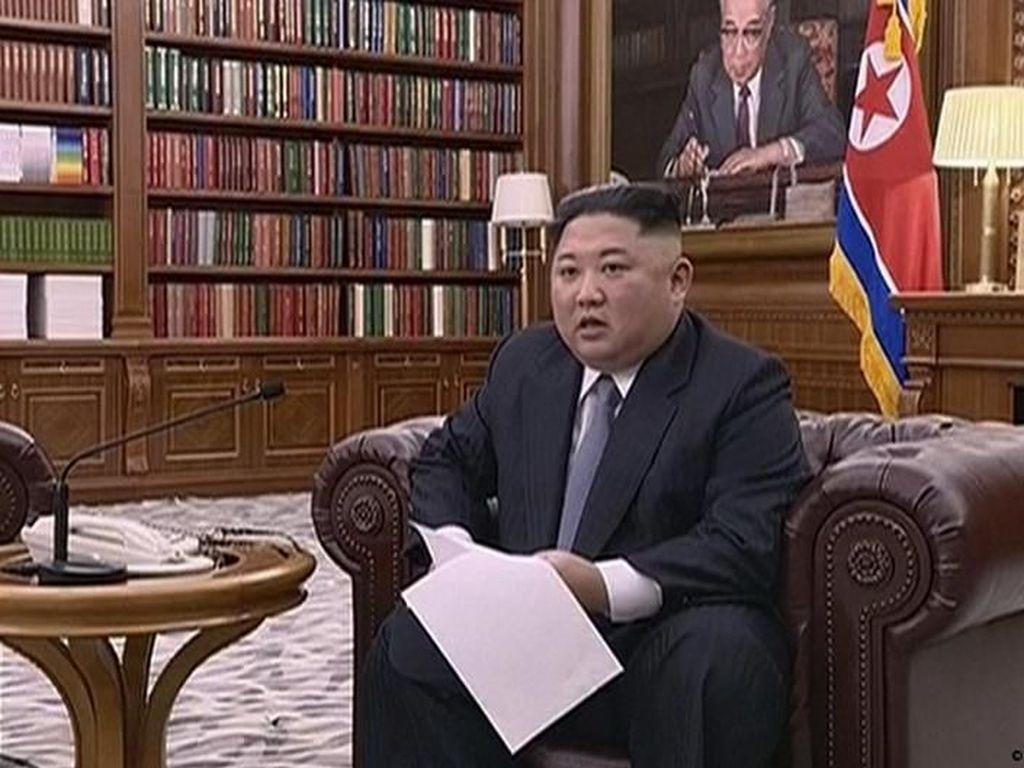Pemimpin Korut Kim Jong-Un Tuntut Diakhirinya Sanksi