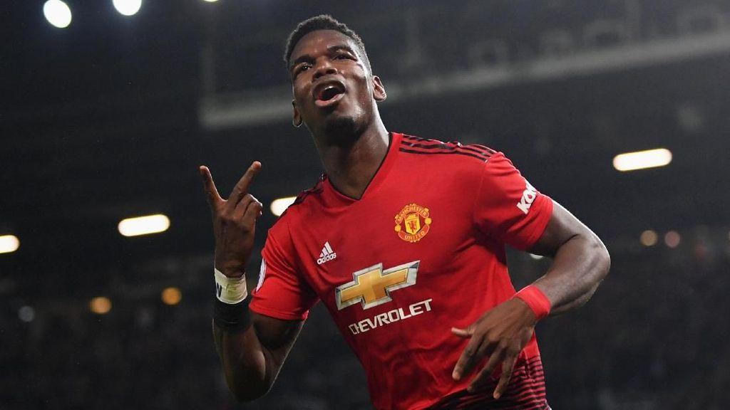 Welcome Pogback! Kekang yang Dipasang Mourinho Sirna Sudah