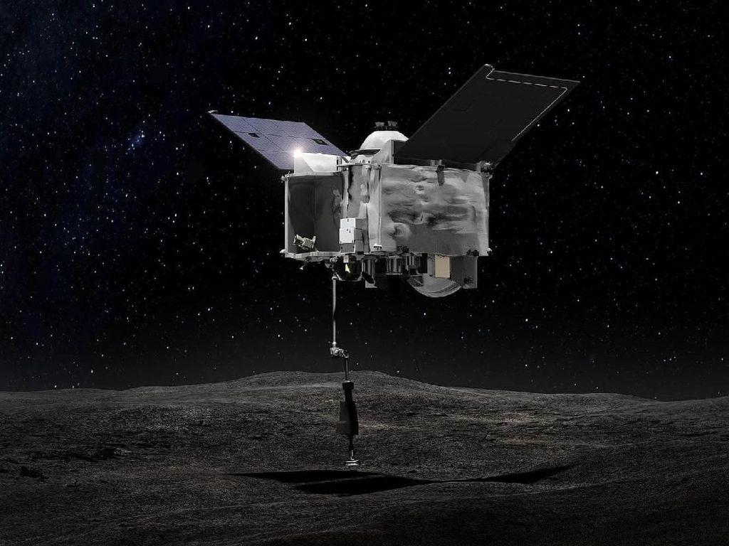Wahana NASA Berhasil Mendarat di Asteroid Bennu dan Kumpulkan Sampel