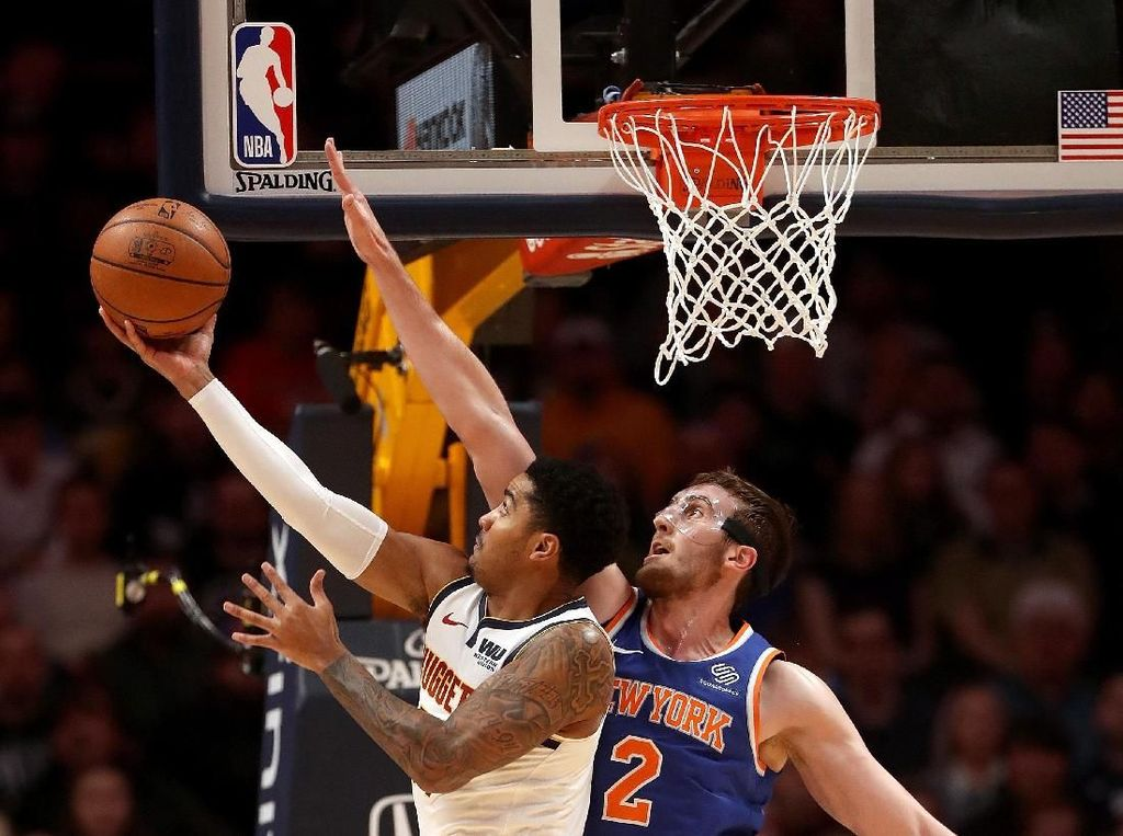 Hasil NBA: Nuggets Bungkam Knicks, Kian Perkasa di Wilayah Barat