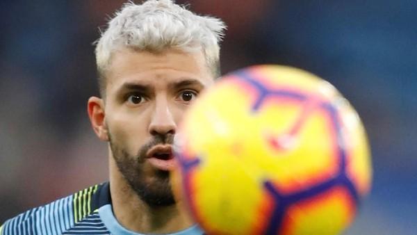 Di Etihad, Aguero adalah Ancaman untuk Gawang Liverpool