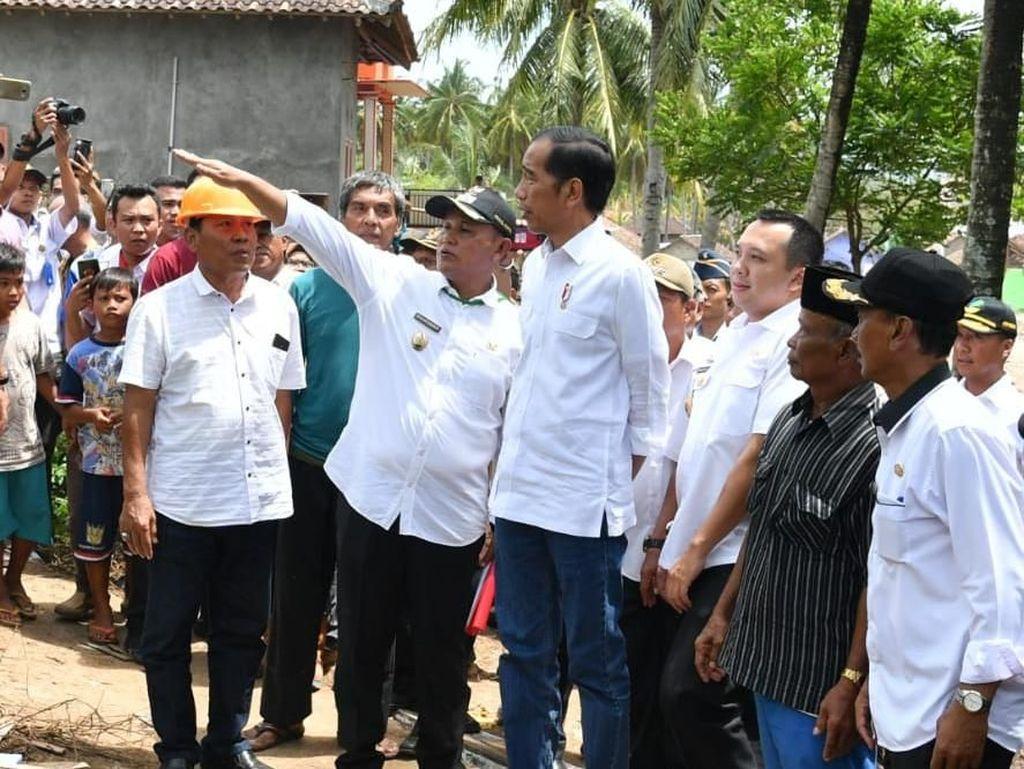 Pemerintah Siapkan Lokasi Sementara  Korban Tsunami Lampung
