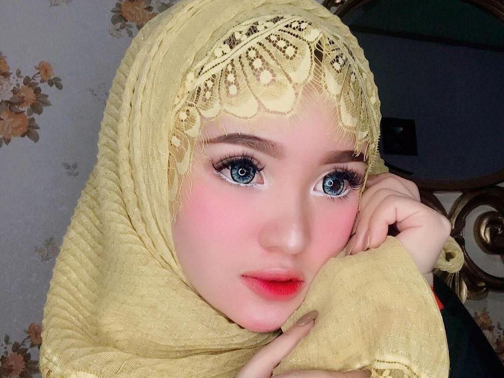 Cantiknya Hijabers Asal Aceh yang Mirip Banget Boneka
