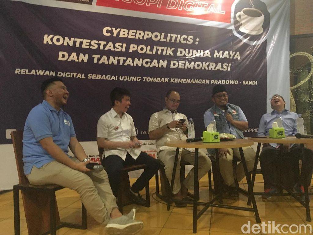 BPN Prabowo: Narasi Petahana Cuma Bisa Balas Kritik Pakai Kata Hoax