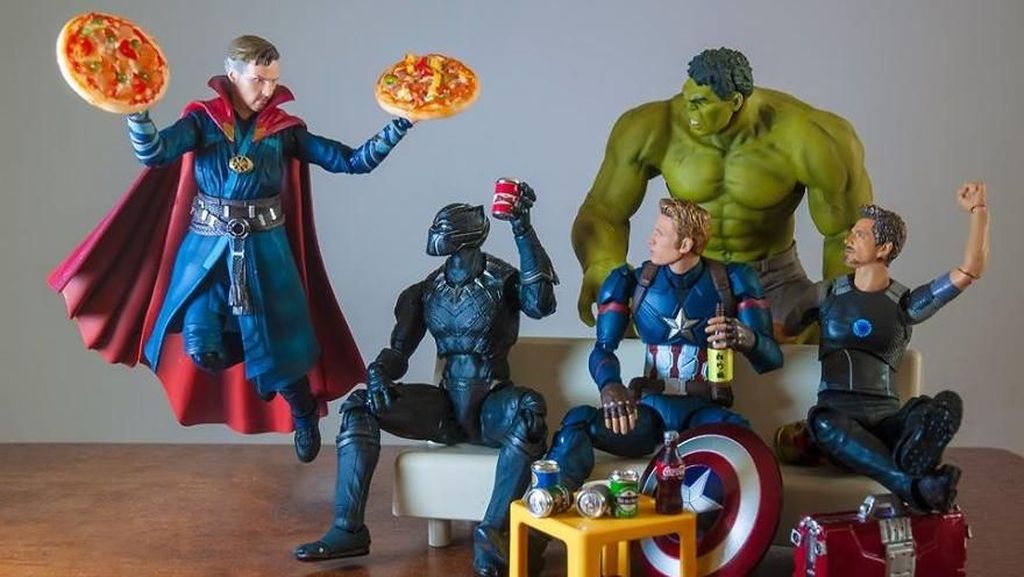 Aksi Kocak Tapi Keren  Iron Man, Captain America dkk