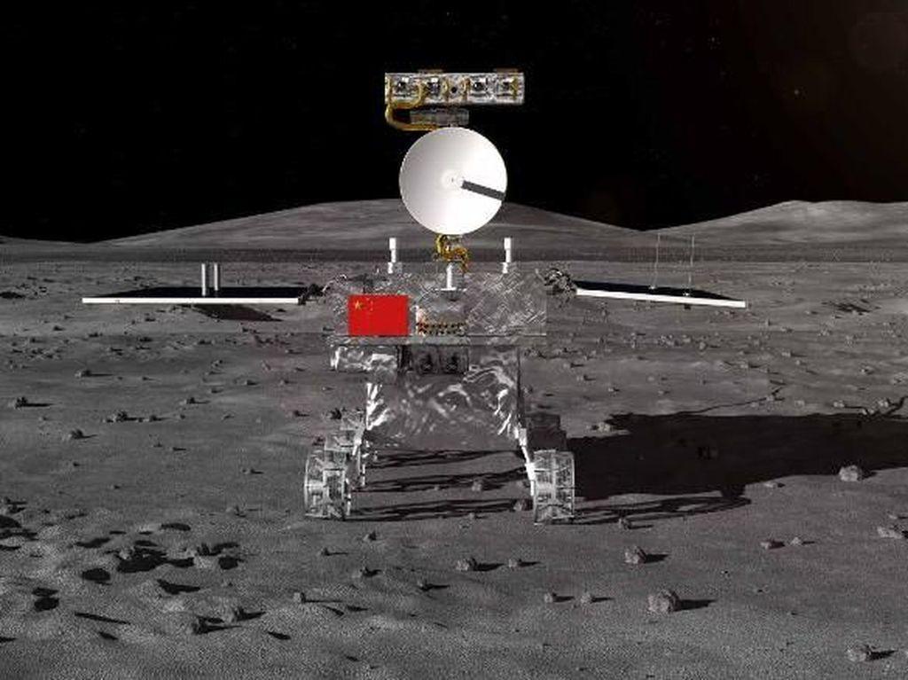 Pesawat Luar Angkasa Change-5 Mendarat dengan Mulus di Bulan